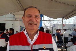 EUGENIO Demeneghi Zilly, presidente del patronato de Cruz Roja.