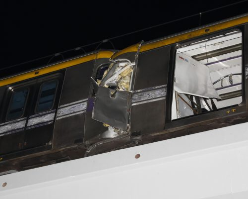 Choque de trenes en Filipinas deja 34 heridos