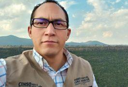 ISRAEL Pérez Ibarra, coordinador regional de los programas Bienestar en la zona de San Juan del Río, Tequisquiapan y Ezequiel Montes