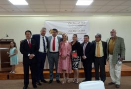 """En el marco del 47 aniversario del Colegio de Abogados Litigantes de Querétaro, María de los Ángeles Urquiza presentó """"Atrás del telón""""."""