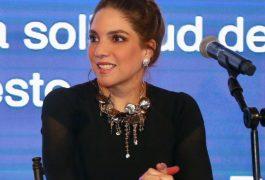 La presidenta de REDSEDUM y titular de la SDUOP, Romy Rojas Garrido.
