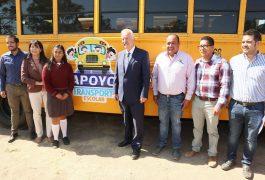 El presidente municipal de El Marqués, Enrique Vega Carriles, dio inicio a la segunda etapa de apoyo al transporte para estudiantes.