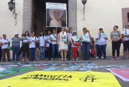 MUJERES Se manifestaron a las afueras del Palacio de Gobierno