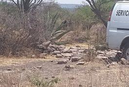 El cuerpo se encontró en el camino que conduce al Fraccionamiento Loma Alta