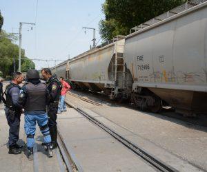 PERSONA atropellada por el tren en el barrio de El Tepe.