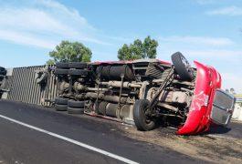 El conductor resultó con lesiones leves
