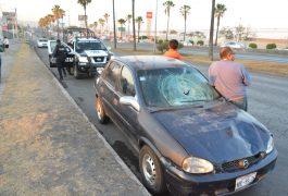 FALTA de precaución ocasionó el accidente a la altura de la colonia La Piedad.