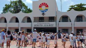Cancún y Playa del Carmen se pronuncian por la paz