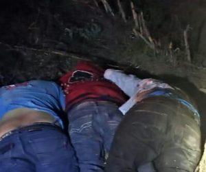 YA FUERON identificados tres de los cadáveres, eran originarios de Aculco, Estado de México.