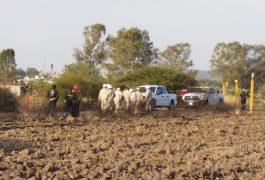 LOS HABITANTES del lugar fueron quienes localizaron la fuga y dieron parte a las autoridades