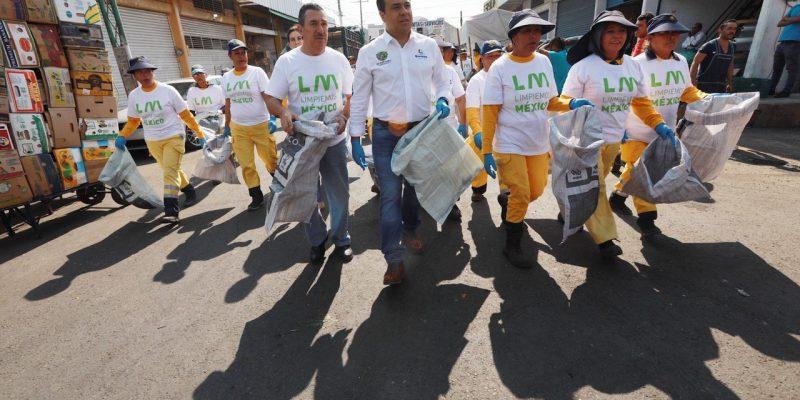 Apoya municipio la campaña Limpiemos México: Luis Nava