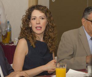 Yamile David Gallegos, presidenta del OCQ