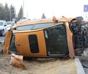 EL ACCIDENTE ocurrió a la altura de Sonterra en dirección a Santa Rosa Jáuregui.